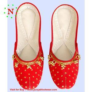 Women's beaded shoes