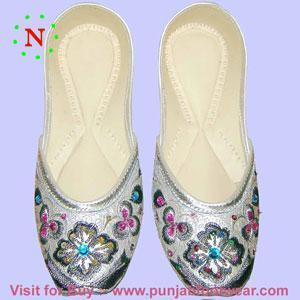 Indian khussa shoes